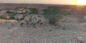 جنرال مصري يزور سرا قرية في النقب ويعتذر لأهلها