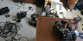 ادانة واسعة للاعتداء على مقر هيئة الاذاعة والتلفزيون بغزة