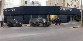 قوات الاحتلال تقتحم البيرة واندلاع مواجهات