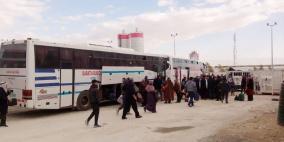 1800 معتمر يغادرون اليوم عبر معبر الكرامة و5 آلاف غدا