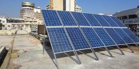 """""""مشروع الطاقة الشمسية على أسطح المدارس"""" يحصل على جائزة أفضل مشروع في الشرق الاوسط وشمال أفريقيا"""