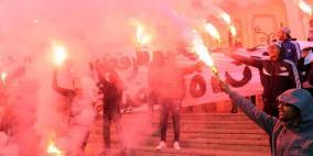 إضراب عام ومسيرات في تونس