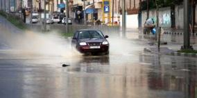 هذه هي كميات الأمطار الهاطلة على فلسطين منذ بداية الشتاء