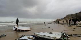 إنقاذ 6 صيادين مصريين تحطم قاربهم في قطاع غزة