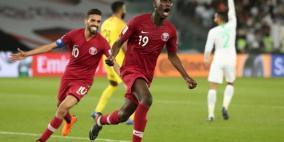 قطر تهزم السعودية بثنائية المعز وتصطدم بالعراق في كأس آسيا