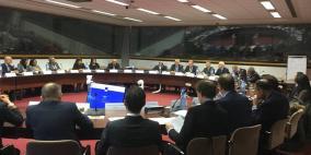 بروكسل: غنيم يترأس اجتماع اللجنة الفتية لبرنامج تحلية المياه
