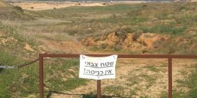 خطة اسرائيلية للقضاء على 800 دونم في غلاف غزة