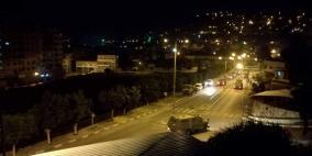 إصابة شاب بالرصاص الحي في مواجهات نابلس