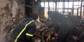 مصرع 7 أطفال أشقاء جراء حريق شب بمنزلهم في دمشق