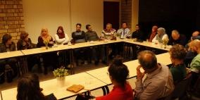 هولندا: الجالية تنظم أمسية لشعراء وكتاب فلسطينيين