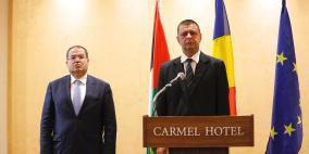 خلال ترؤسها للاتحاد.. رومانيا تتعهد بمواصلة دعم حل الدولتين