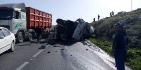 10 اصابات.. الشرطة تنفي وقوع وفيات في حادث تقوع