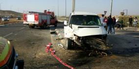 مصرع شخصين وإصابة 135 آخرين في حوادث سير الشهر الماضي