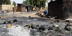 """""""بوكو حرام"""" ترتكب مجزرة راح ضحيتها 60 شخصا في نيجيريا"""