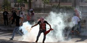 إصابات بالاختناق في مواجهات مع الاحتلال جنوب بيت لحم