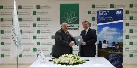 """""""القاهرة عمان"""" والقنصلية البريطانية يوقعان إتفاقية لدعم طلبة """" تشيفنينغ"""""""
