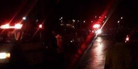 مستوطنون يهاجمون مركبات المواطنين على طريق وادي الدلب غرب رام الله