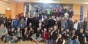 """صور: اتحاد الملاكمة يختتم """"بطولة فلسطين"""" ويعلن أسماء الفائزين"""