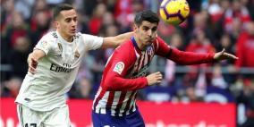 ريال مدريد إلى وصافة الليجا بثلاثية قي مرمى أتليتيكو