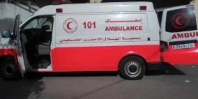 وفاة مواطن بحادث سير على طريق نابلس- اريحا