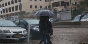 كتلة قطبية وأمطار غزيرة نهاية الأسبوع
