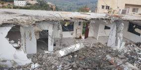 الاحتلال يهدم منزلا في الولجة شمال غرب بيت لحم