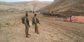 الاحتلال يخطر 50 عائلة بالاخلاء في الأغوار