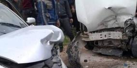 8 اصابات بينها خطيرة بحادث سير في يطا
