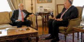 الرجوب يلتقي وزير خارجية مصر في القاهرة