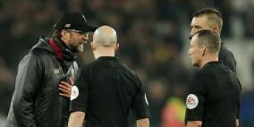 الاتحاد الإنجليزي يعاقب مدرب ليفربول