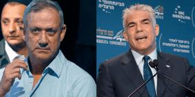 """تحالف """"غانتس ولبيد"""" يتفوق على حزب نتنياهو"""