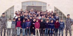الشرطة تستضيف 50 طالبا من الخليل في معسكر تعايش