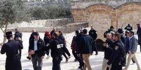 وزير إسرائيلى يقود اقتحاما للاقصى ويصل باب الرحمة