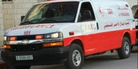 إصابة خمسة مواطنين في حادث سير ذاتي في جنين