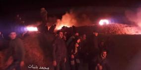 الارباك الليلي.. اصابة شاب برصاص الاحتلال شمال غزة