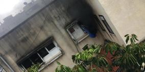 إصابة خطيرة إثر حريق منزل في الطيبة