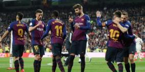 برشلونة يصعق ريال مدريد بثلاثية نظيفة