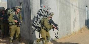 تدريب مفاجئ لجيش الاحتلال يحاكي عملية برية في غزة