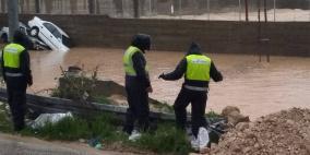 بالصور.. اعلان حصيلة الاصابات والتدخلات خلال العاصفة