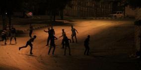 إصابة فتى بالرصاص الحي في مواجهات قرب حاجز الجلمة