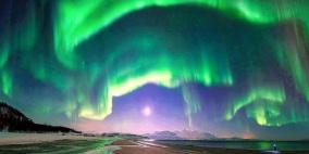شاهد.. أضواء خلابة تُزين سماء فنلندا