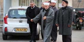 """الشيخ عبد العظيم سلهب يعود إلى """"الأقصى"""""""
