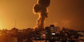 قصف اسرائيلي يستهدف مجموعة مواطنين وسط غزة
