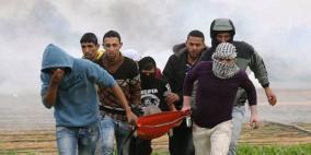 اصابة شابين برصاص الاحتلال على حدود غزة واعتقال آخر