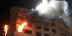 مصرع طفلة واصابة شقيقيها بحريق منزلهم في الخليل