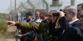 "من غلاف غزة.. نتنياهو يهدد حماس بـ ""رد مضاعف"""