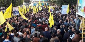 أمام الألاف، حلس لأبو مازن: فتح قادرة ومستعدة للقتال من أجل الدولة والقدس