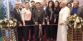 افتتاح معرض العروس الثاني في رام الله