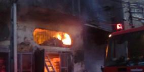 فاجعة..  وفاة 3 اطفال  في حريق بمنزل برفح