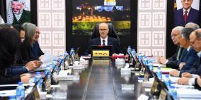 مجلس الوزراء برئاسة الحمد الله يعقد جلسته الاخيرة